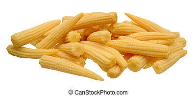 steamed baby corns