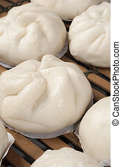 steamed chinese bun