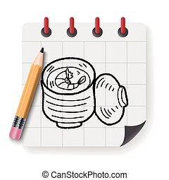 steamed egg doodle