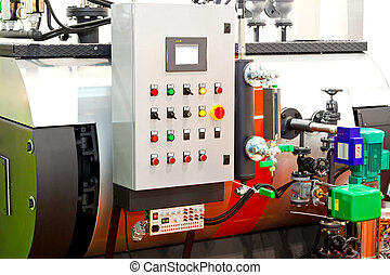 Steamer boiler