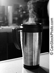 Steaming Coffee 2