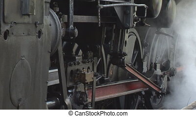 steaming old train 3