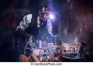 steampunk, 発明者, 人