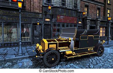 steampunk - 3d render