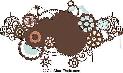 steampunk, desenho