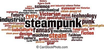 Steampunk-horizon [Converted].eps - Steampunk word cloud...