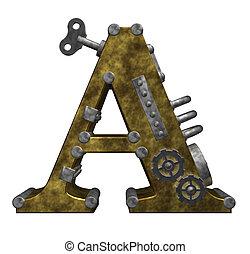 steampunk, levél