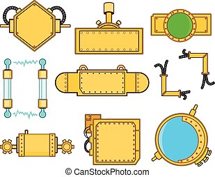 steampunk, set