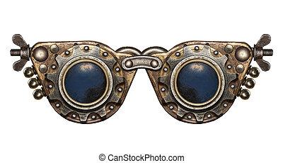steampunk, védőszemüveg