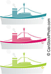 steamship pattern