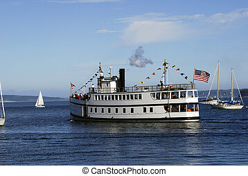 virginia v - steamship virginia v at port townsend