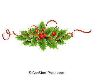 stechpalme, weihnachten