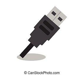 stecker, usb kabel