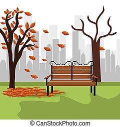 stedelijke , park, design.