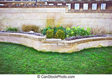 stedelijke , tuin
