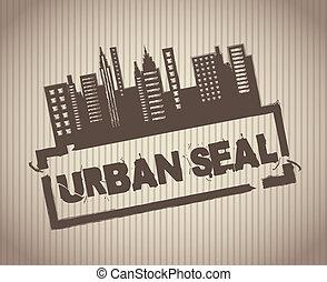stedelijke , zeehondje