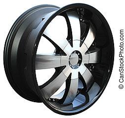 steel alloy car rim