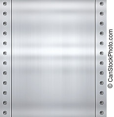 steel alloy metal background - great shiny alloy or steel ...