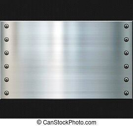 great background image of steel and carbon fiber