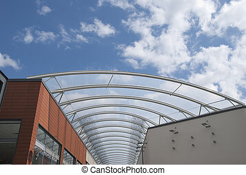Steel and Glass Roof