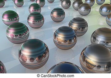 steel ball color mix