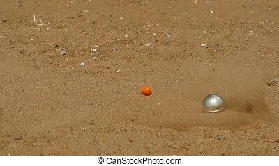 steel ball game in petanque - steel ball game of petanque,...