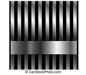 Steel bar background