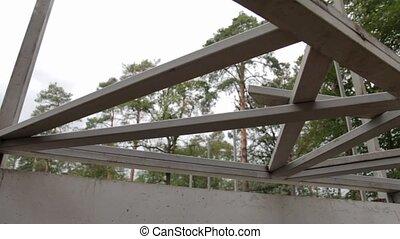 Steel Beam Metal Construction - Steel beam metal...