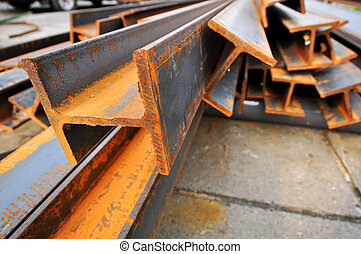 steel beams