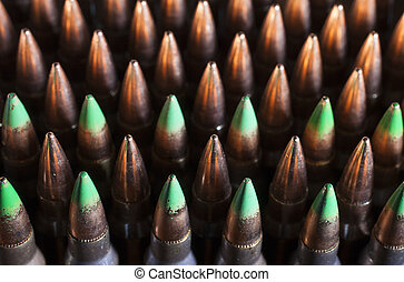 Steel bullets - Bullets that have a steel core and...
