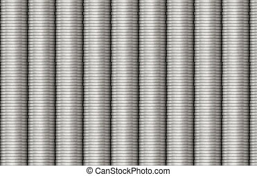 Steel Coils Metal Texture Piping Background