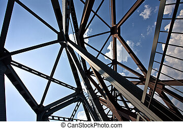 steel construction - building series: old styled steel...