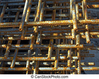 Steel construction for structure building industry