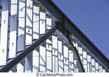 Steel construction - Metal construction of an industrial...