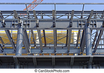 Steel construction - New steel construction for new...