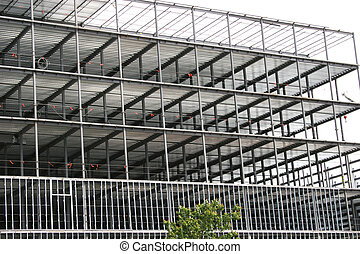 Steel Construction - Steel construction building