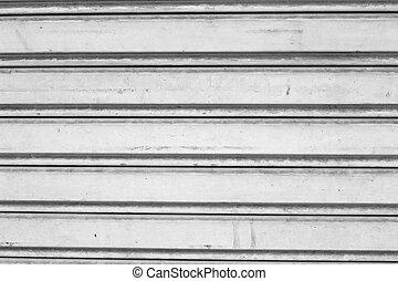 Steel door gray background vintage