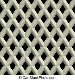 Steel grate. Seamless texture.