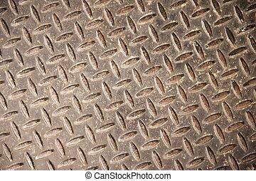 Steel Herringbone Pattern