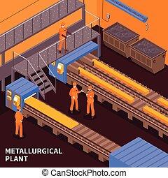 Steel Industry Isometric