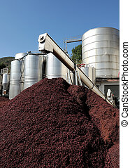 Steel industry - Silos and steel machinery for the...