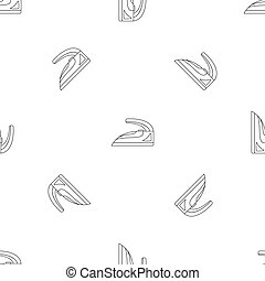 Steel iron pattern seamless repeat geometric for any web design