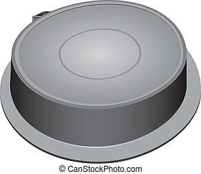 Steel manhole