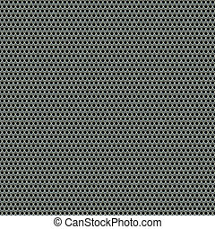 A 3d illustration of a steel grate material. This image tiles seamlessly as a pattern.