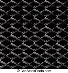 Steel mesh seamless wire background