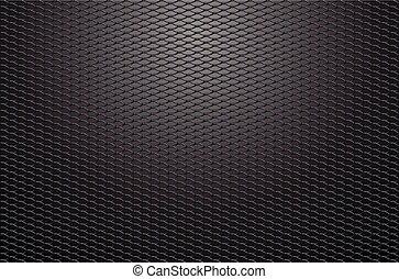 Steel mesh vector background