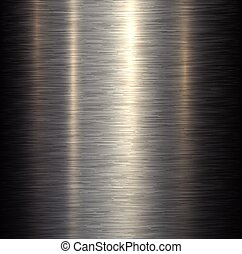 Steel metal background brushed metallic texture with ...