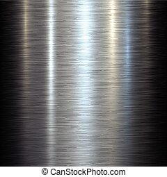 Steel metal background brushed metallic texture with...