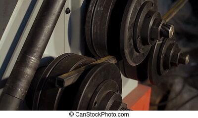 Steel Metal Bending Machine - Metal Bending Machine in the...
