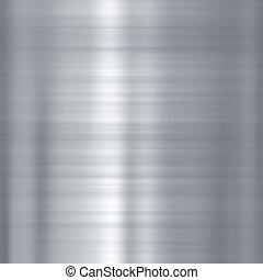 Steel metallic plate